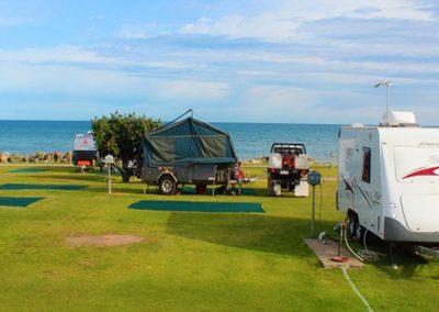 beachfront caravan site adelaide