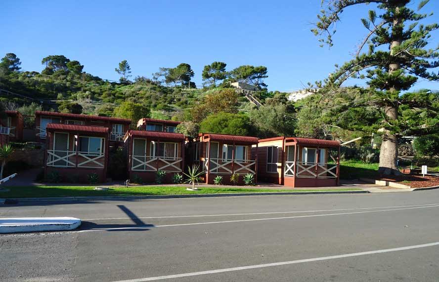 seaside cabin brighton beachfront holiday park