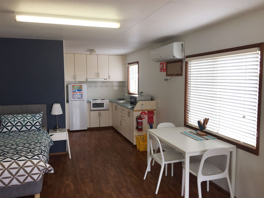 special access cabin brighton caravan park