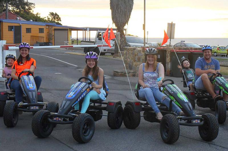 go kart hire brighton beachfront holiday park