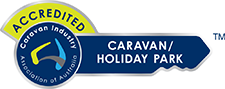 accredited caravan industry of australia badge