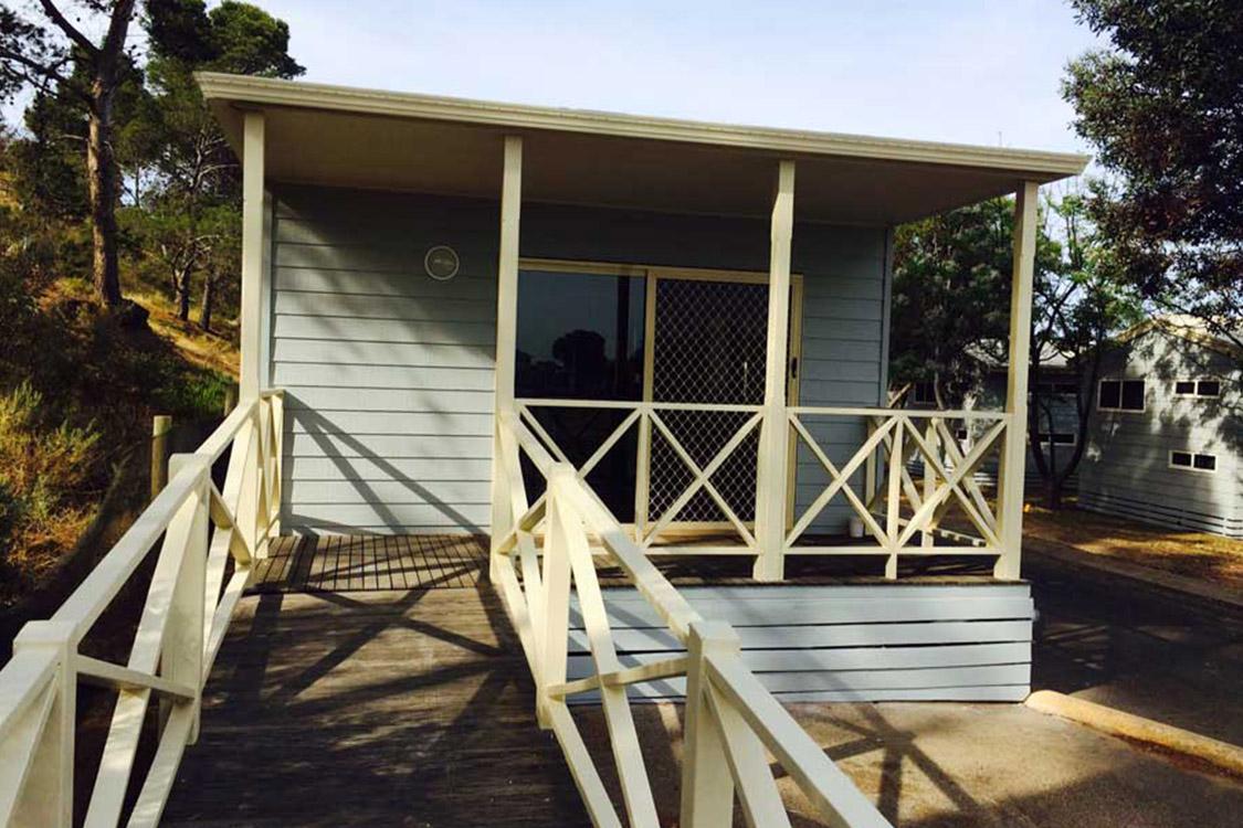 Special Access Hillside Cabin | Brighton Beachfront Holiday Park