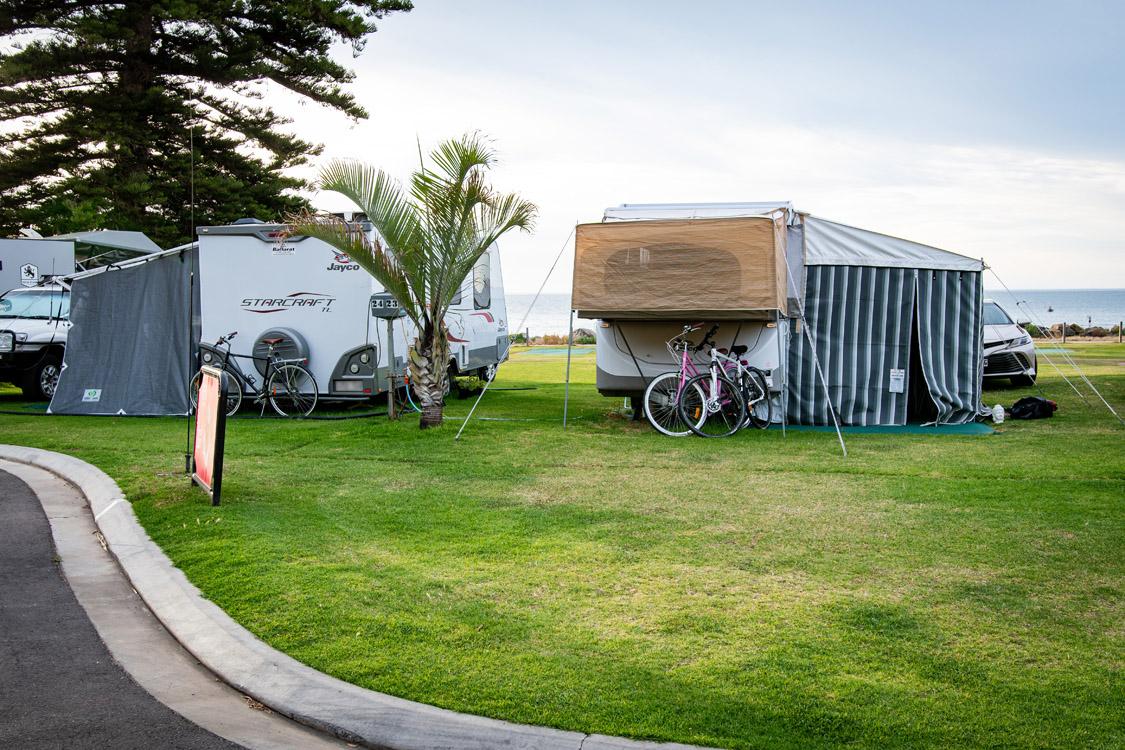 Premium Powered Sites | Brighton Beachfront Holiday Park