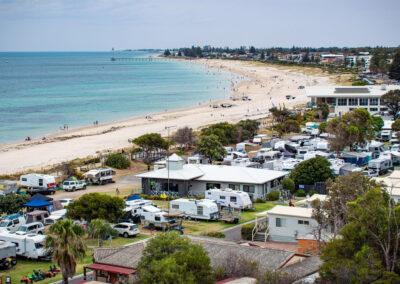 Beachfront Location | Brighton Beachfront Holiday Park