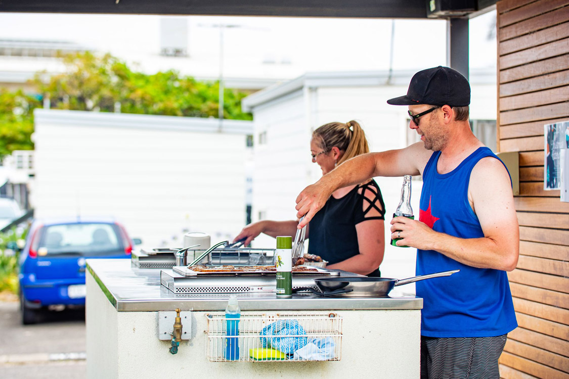 BBQ areas | Brighton Beachfront Holiday Park