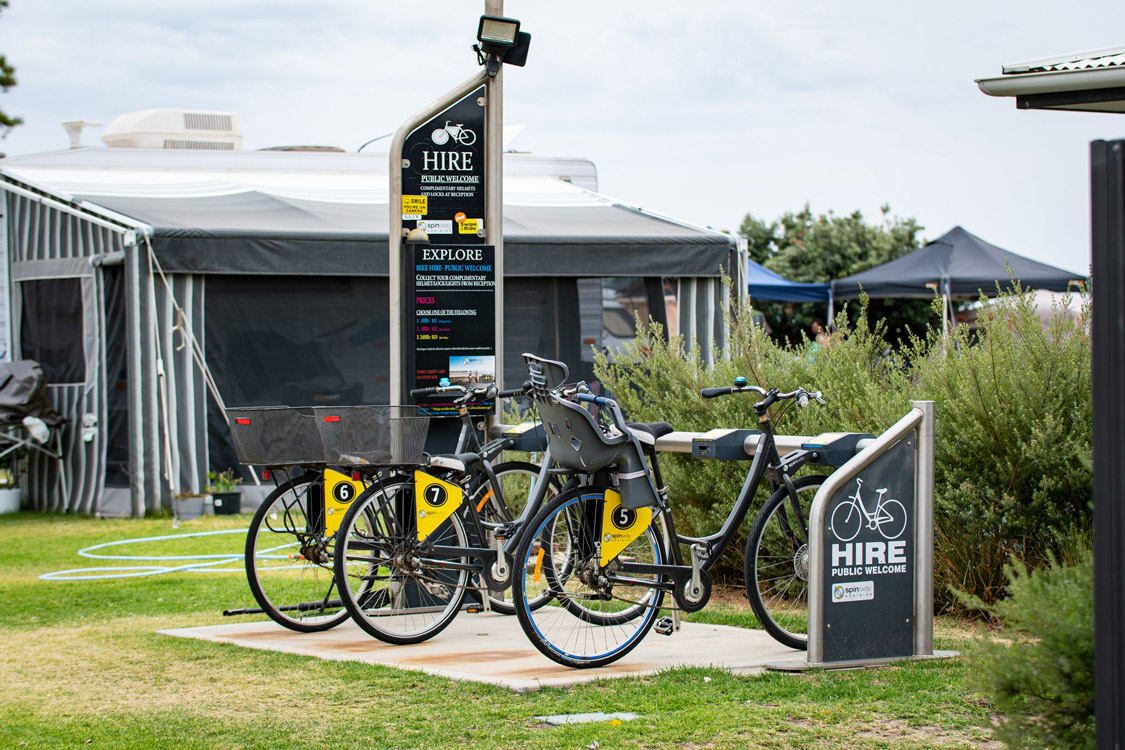 Bike Hire and Kiosk | Brighton Beachfront Holiday Park