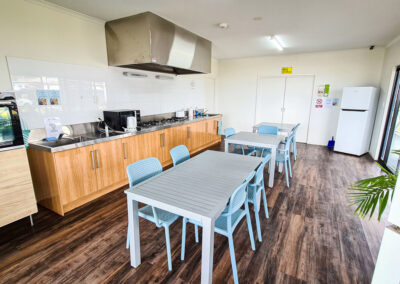 Well maintained camp kitchen facilities | Brighton Beachfront Holiday Park