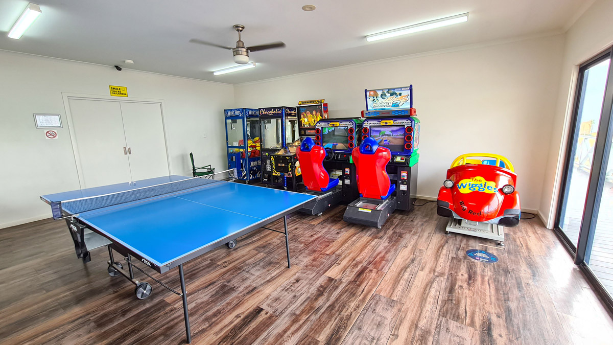 Arcade games and activities | Brighton Beachfront Holiday Park