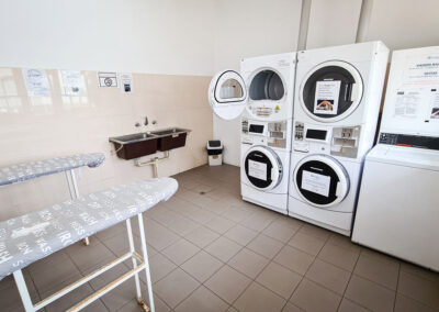 laundries with washing machines and dryers | Brighton Beachfront Holiday Park