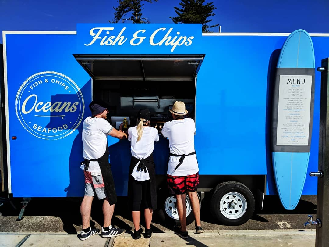 Ocean food truck | Brighton Beachfront Holiday Park